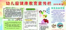 幼儿园健康宣传栏