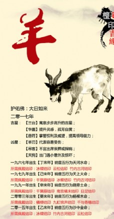 十二生肖 羊