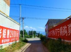 乡村街道风景