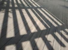 投影 艺术投影 栅栏影子