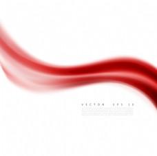 红色动感线条