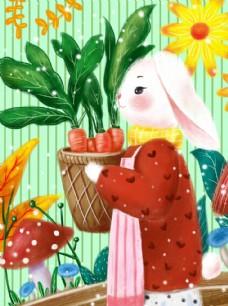 清晨的兔子小姐