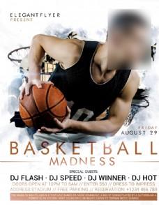 篮球疯狂海报