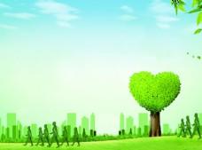 绿色健康封面