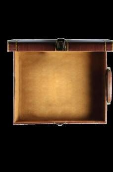 打开的箱子