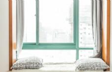 极简风格窗台