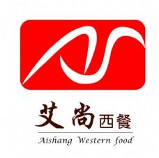 艾尚西餐logo