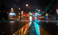 光影炫彩马路