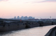 京杭大运河傍晚