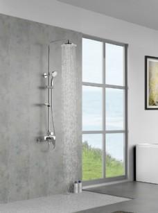大淋浴浴室龙头场景图
