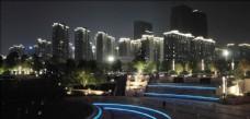 佛山 金融高新区 城市 夜景