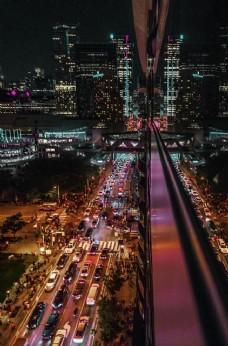 城市鸟瞰图