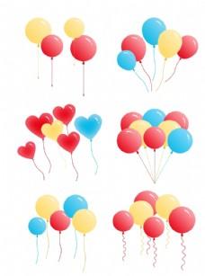 彩色气球装饰
