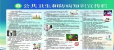 公共卫生和防病知识宣传栏