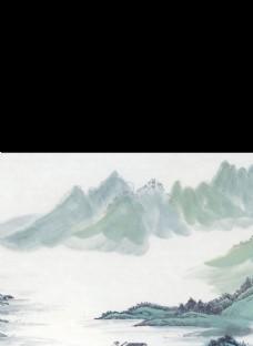 山水画山脉
