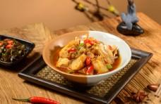 烩饭海报 烩饭广告 香菇滑鸡饭