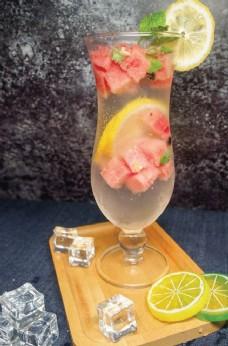 西瓜鲜果汁
