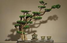 中式木艺摆件