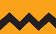 黄色几何背景