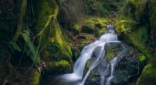 流水潺潺高清自然风景