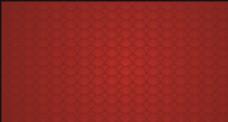 祥云底纹 红色背景 矢量