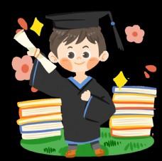 学士帽毕业