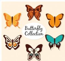 5款精美彩色蝴蝶