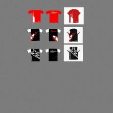 男款创意印花设计T恤