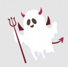 魔鬼幽灵免抠素材