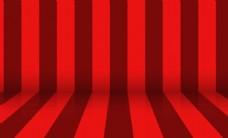 红色线条渐变背景