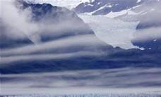 阿拉斯加和南极洲自然风景