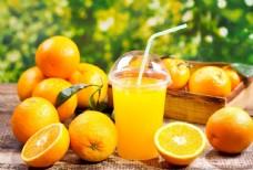橙 柑橘 果汁 橙汁 橙汁饮品