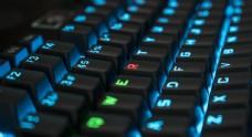 彩色键盘背景
