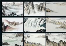 中国传统水墨国画艺术