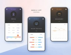 UI設計手機界面