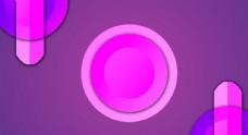紫色圆形渐变背景
