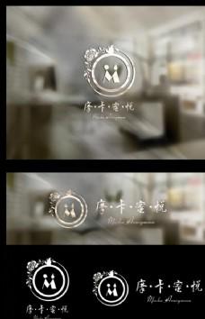 咖啡馆婚庆logo