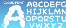 卡通字母创意字体