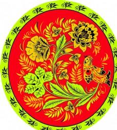 古典 花纹 背景 花 底纹