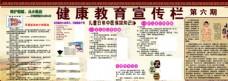 健康教育宣传栏爱眼日中医儿童