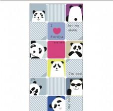 熊猫 手机壳