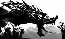 巨龙和勇士