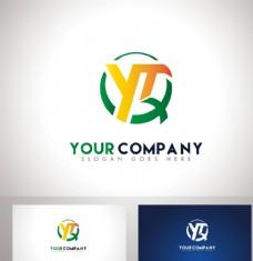 YTX字母logo设计