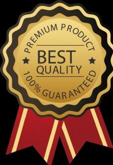 质量徽章国外标志高标准图标素材