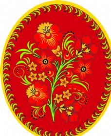 古典 花紋 背景 花 底紋