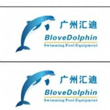 蓝海豚logo