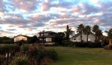 新西兰海滨小镇风景
