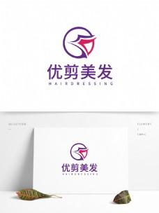 优剪图形创意logo