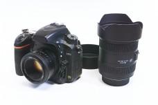 单方相机与单方大灯泡镜头