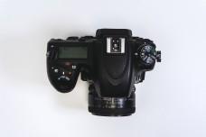 单反相机俯拍照高清素材